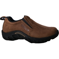 Brown Moc Slip-On Shoes Medium Width