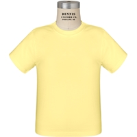 T-Shirt-Island Yellow with School logo