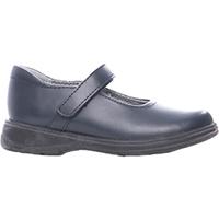 Navy Girls Dress Shoe Medium Width