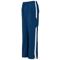 Navy Warm-Up Pants with School logo