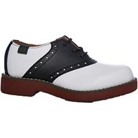 Black & White Saddle Shoe Wide Width