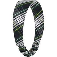 Campbell Plaid Elastic Back Headband