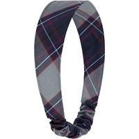 Dunbar Plaid Elastic Back Headband