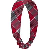 Fairmont Plaid Elastic Back Headband