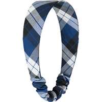 Morris Plaid Elastic Back Headband