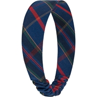 Wilson Plaid Elastic Back Headband