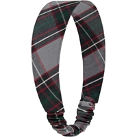 Chandler Plaid Elastic Back Headband