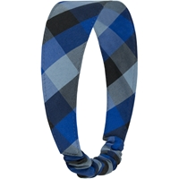 Hastings Plaid Elastic Back Headband