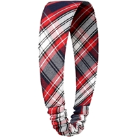 Liberty Plaid Elastic Back Headband
