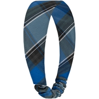 OO Plaid Elastic Back Headband