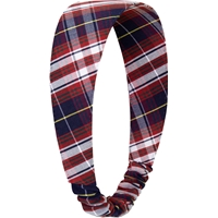 Ridgeland Plaid Elastic Back Headband