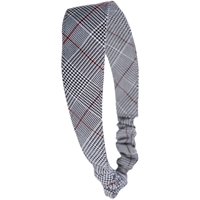 Hanover Plaid Elastic Back Headband