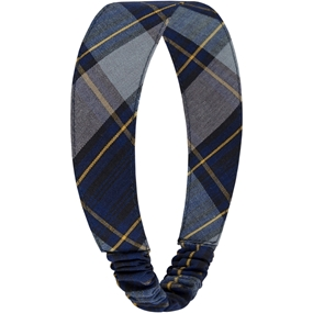 Tyler Plaid Elastic Back Headband