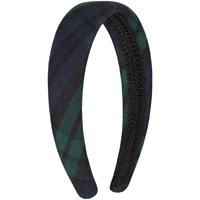 Blackwatch Plaid Padded Headband