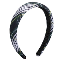 Campbell Plaid Padded Headband