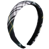 Carden Plaid Padded Headband