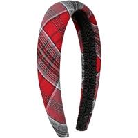 Fairmont Plaid Padded Headband