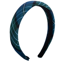 Kirk Plaid Padded Headband
