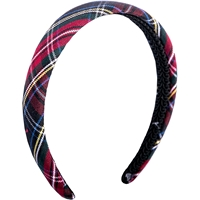 Macbeth Plaid Padded Headband