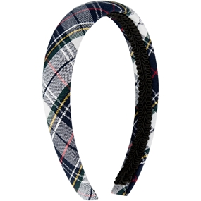 Marymount Plaid Padded Headband