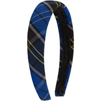 Mayfair Plaid Padded Headband