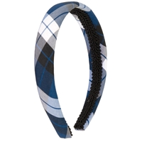 Morris Plaid Padded Headband