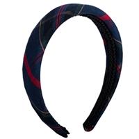 Wilson Plaid Padded Headband