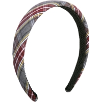 MM Plaid Padded Headband