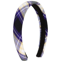 Fremont Plaid Padded Headband