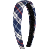 Wallingford Plaid Padded Headband