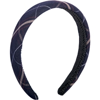 Burlingame Plaid Padded Headband