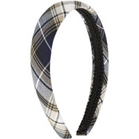 Alexander Plaid Padded Headband