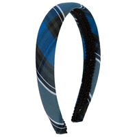 OO Plaid Padded Headband