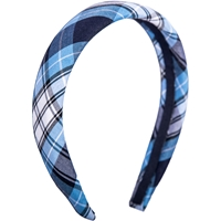 RR Plaid Padded Headband