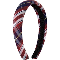 Ridgeland Plaid Padded Headband