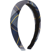 Tyler Plaid Padded Headband