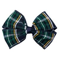 Christopher Plaid Hairbow