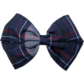 Dunbar Plaid Hairbow