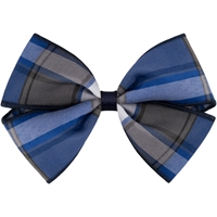 Grant Plaid Hairbow