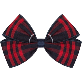 Hamilton Plaid Hairbow