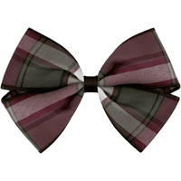 James Plaid Hairbow