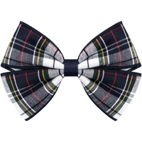 Marymount Plaid Hairbow