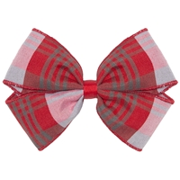 Victoria Plaid Hairbow