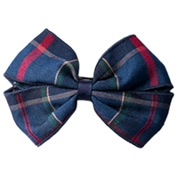 Wilson Plaid Hairbow