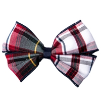 Bruce Plaid Hairbow