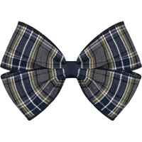 LL Plaid Hairbow