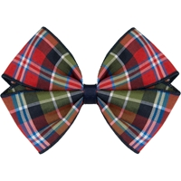 Primrose Plaid Hairbow