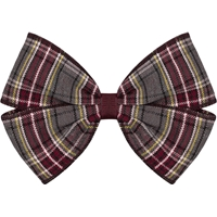 MM Plaid Hairbow