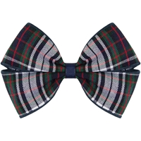 Patricia Plaid Hairbow