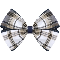 Alexander Plaid Hairbow